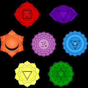 Chakra Yoga Meditation Namaste Om Symbol Indien