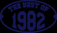 Jahrgang 1980 Geburtstagsshirt: The Best of 1982