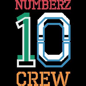 numberz crew color zahlen 10