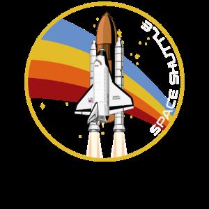 Space Shuttle Start Rakete