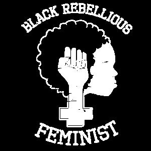 ME116Rebellious Black Feminist T-Shirt