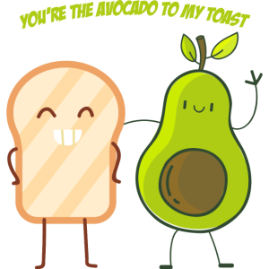 You re the Avocado to my Toast Geschenk