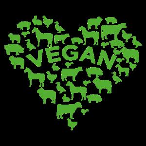 Tierschutz Fleischfrei Vegan Veganer Geschenk