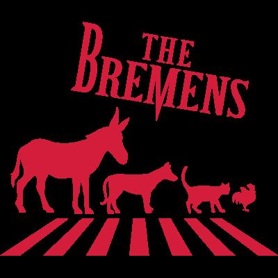 Bremer Stadtmusikanten - Zwei Musikklassiker unter sich. The Beatles meet die Bremer Stadtmusikanten! - Tiere,Stadtmusikanten,Rock,Märchen,Musik,Grimm,Bremen