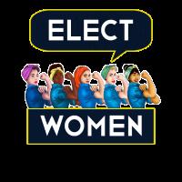 Wahl Frauen Statement Quote Group Tshirt Rosie Riv