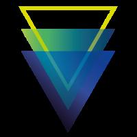 Geometric Triangle Shape
