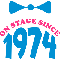 on stage since 1974