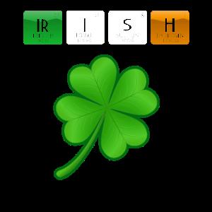 Irisches St Patrick Tageschemie-Wissenschafts