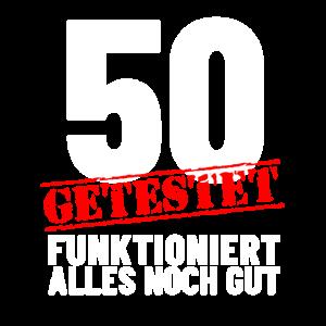 50. Geburtstag - Das perfekte lustige Shirt zum 50