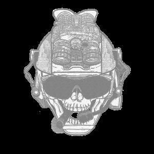 Skull Paintball Airsoft Softair Geschenk tactical