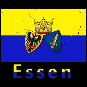 Essen Deutsche Stadt Flagge Fahne Flagge Flagge