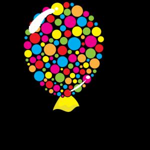 Party-Ballon-Karikatur