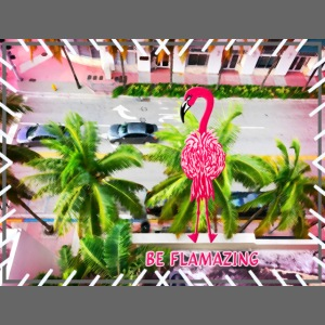Be Flamazing! Ein Flamingo in Miami