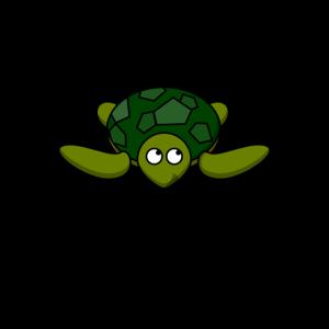 Chillkröte Lustig Spruch Schildkröte Chillen Teen