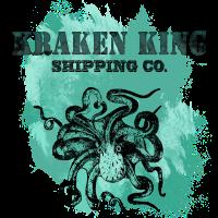T-Shirt Kraken King Krake Oktopuss
