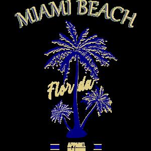 Miami Beach Florida 'Mojo Design' T-Shirt