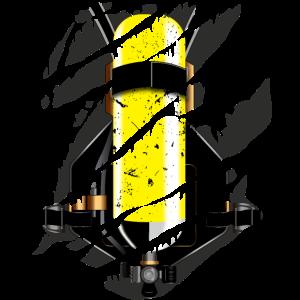 Feuerwehr Druckluftflasche - cooles Geschenk