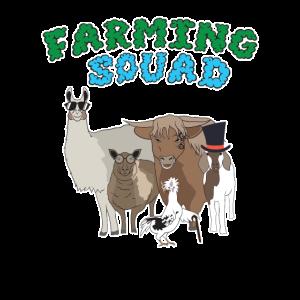 Farming Squad Landwirt Landwirtschaft Geschenk