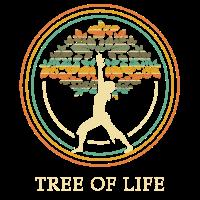 Baum des Lebens Tree of life Yoga Namaste