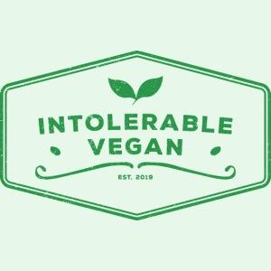 Intolerable Vegan Logo - Green