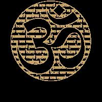 Om Mantra Kreis Design