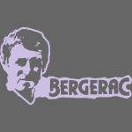 BERGERAC Kopf + Schriftzug