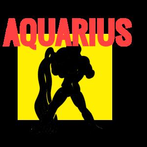 Aquarius Wassermann Sternzeichen Geschenk