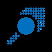 Muster - Form - Kreis - Pfeil - blau - 2