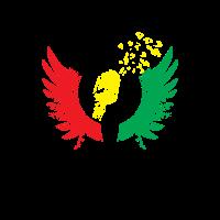 Reggae Microphone Wings