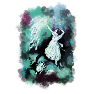 T-Shirt Alice im Wunderland