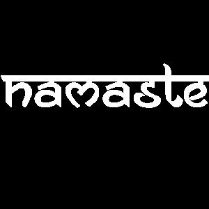 Namaste - weiß