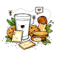 Cookies & Milk - Kekse & Milch