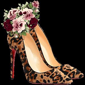 Aquarell-Leopard-Stilett