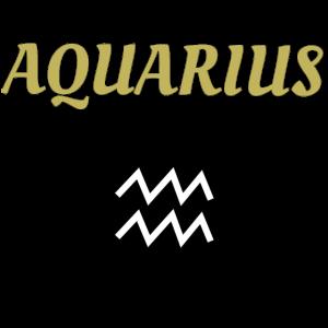 Aquarius Wassermann Zodiac Sternzeichen Geschenk