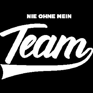 Teamwork Mannschaft niemals ohne mein Team hh rap