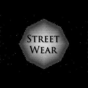 Street Wear Aufschrift auf Stein Untergrund