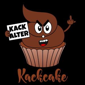 Kack Alter Kackcake Cupcake Scheiße Kacke Aggro