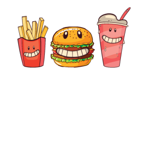 Mein bester Freund Fries Burger Drink Fast Food