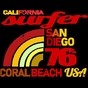 Surfer Retro Design
