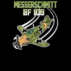 Messerschmitt BF 109 Modellbau Geschenk Aviation