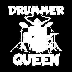 Drummer Queen Dramaqueen Schlagzeugerin