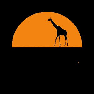 Giraffe im Halbmond Trendtier