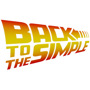 Back to the Simple