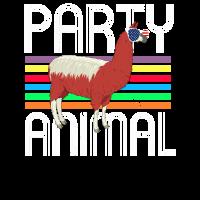 Geist Tierlama Geschenk Party & Tier Hemd