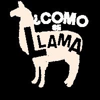Como Se Llama Geist Tierlama Ausruhen Geschenk