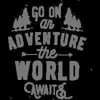 Machen Sie ein Abenteuer, Reisen, Wandern, Erkunden