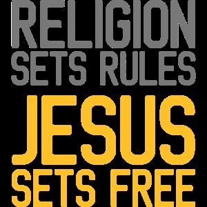 Religion setzt Regeln 2 Farbe, Christ, Glaube