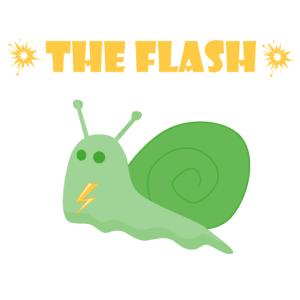 Schnecke Flash weiss ai