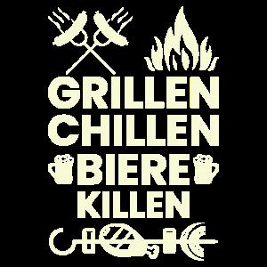 Grillen & Bier saufen