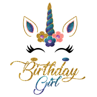 Birthday Girl Funny unicorn unicorns gift magical